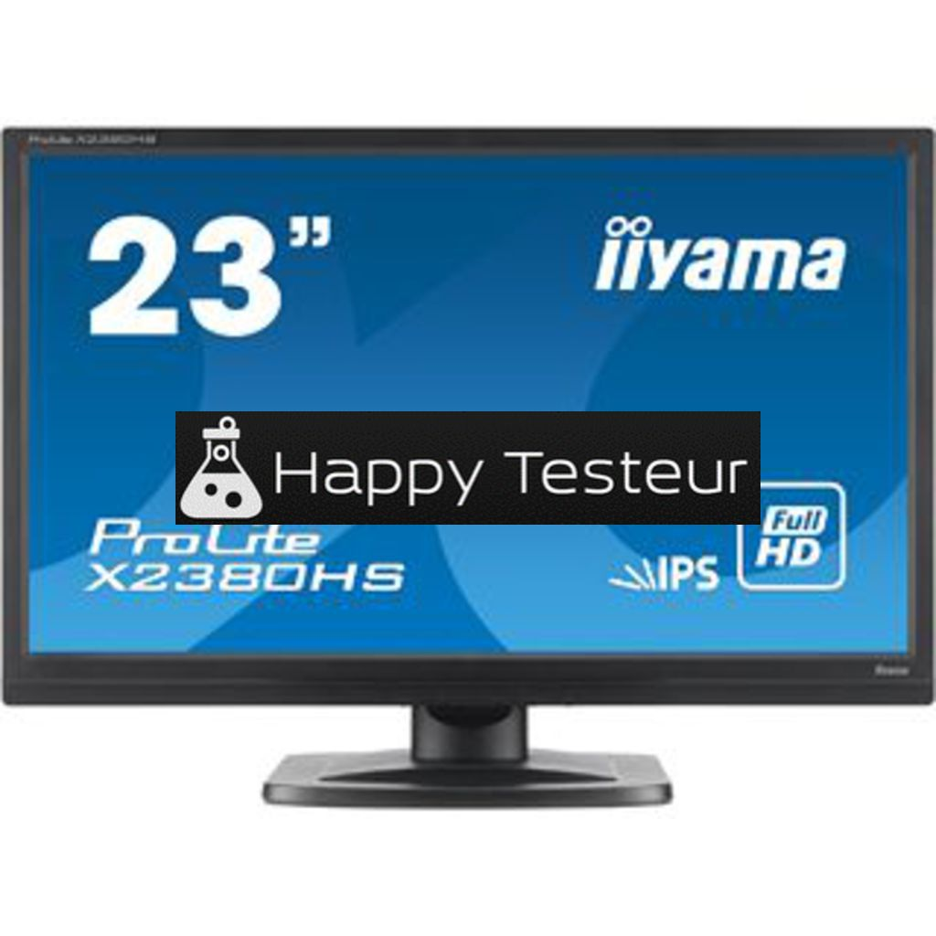 test Iiyama ProLite X2380HS-B1