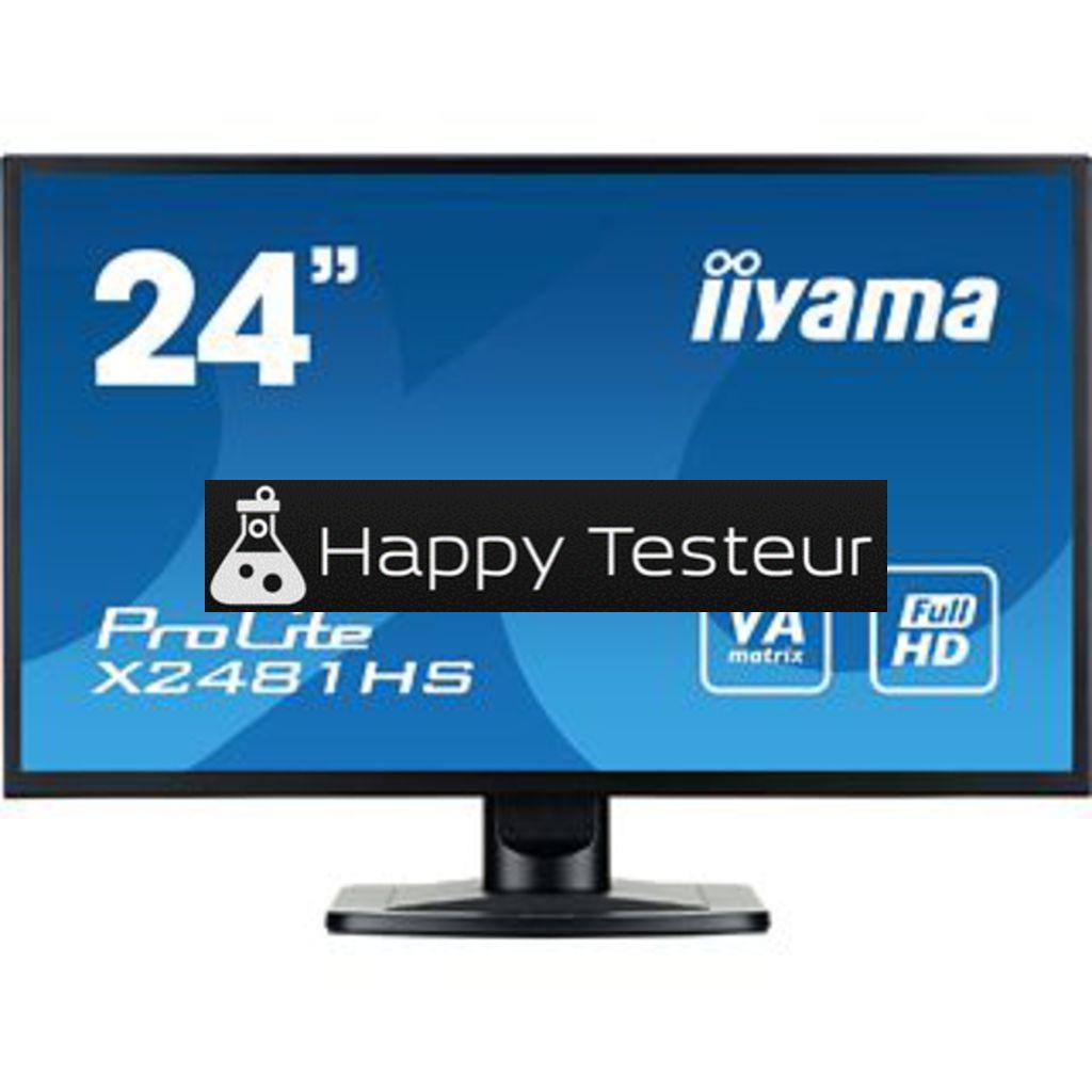 test Iiyama ProLite X2481HS-B1