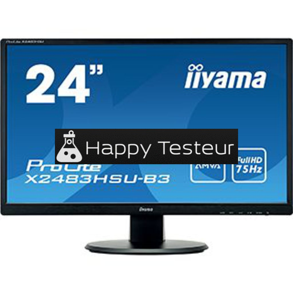 test Iiyama ProLite X2483HSU-B3