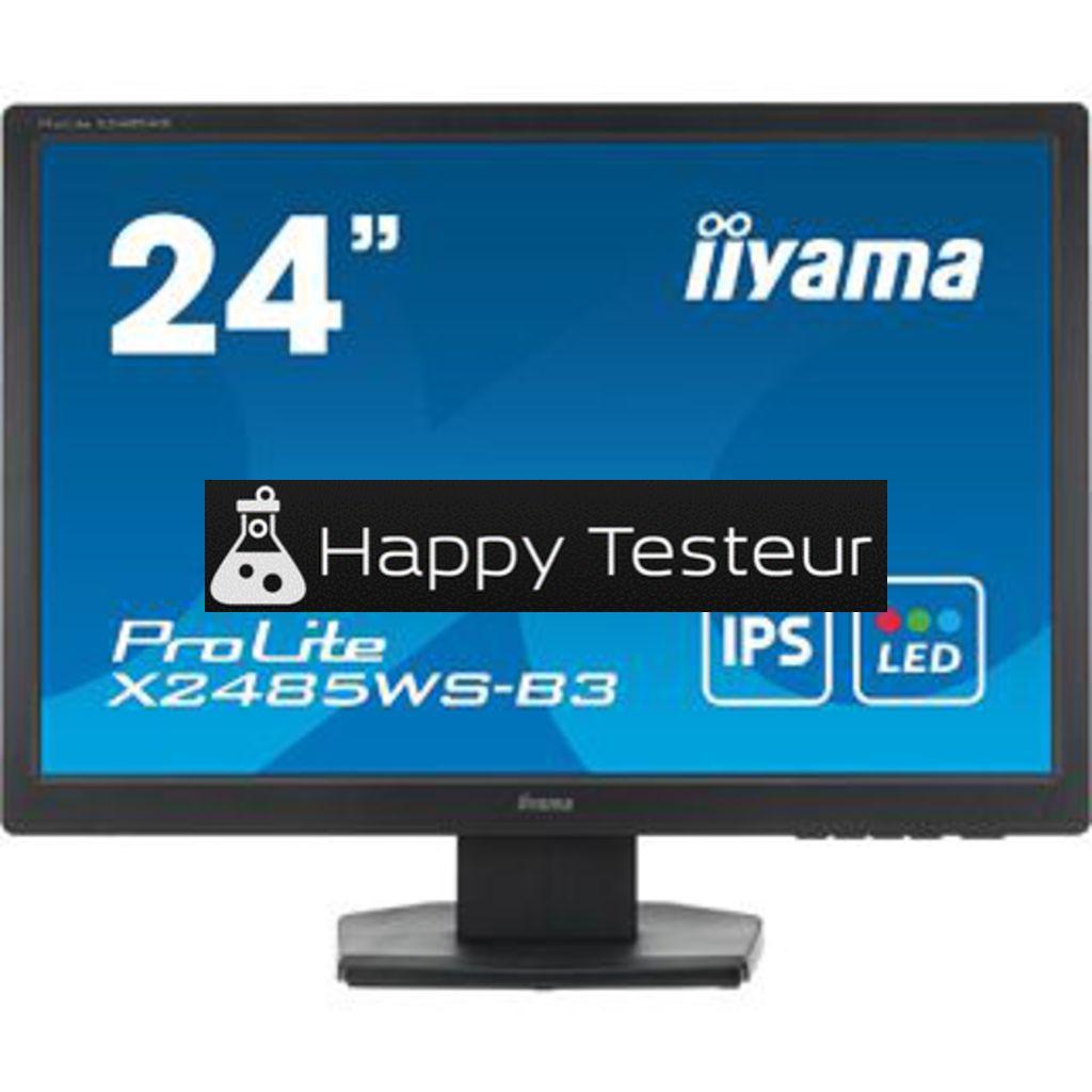 test Iiyama ProLite X2485WS-B3