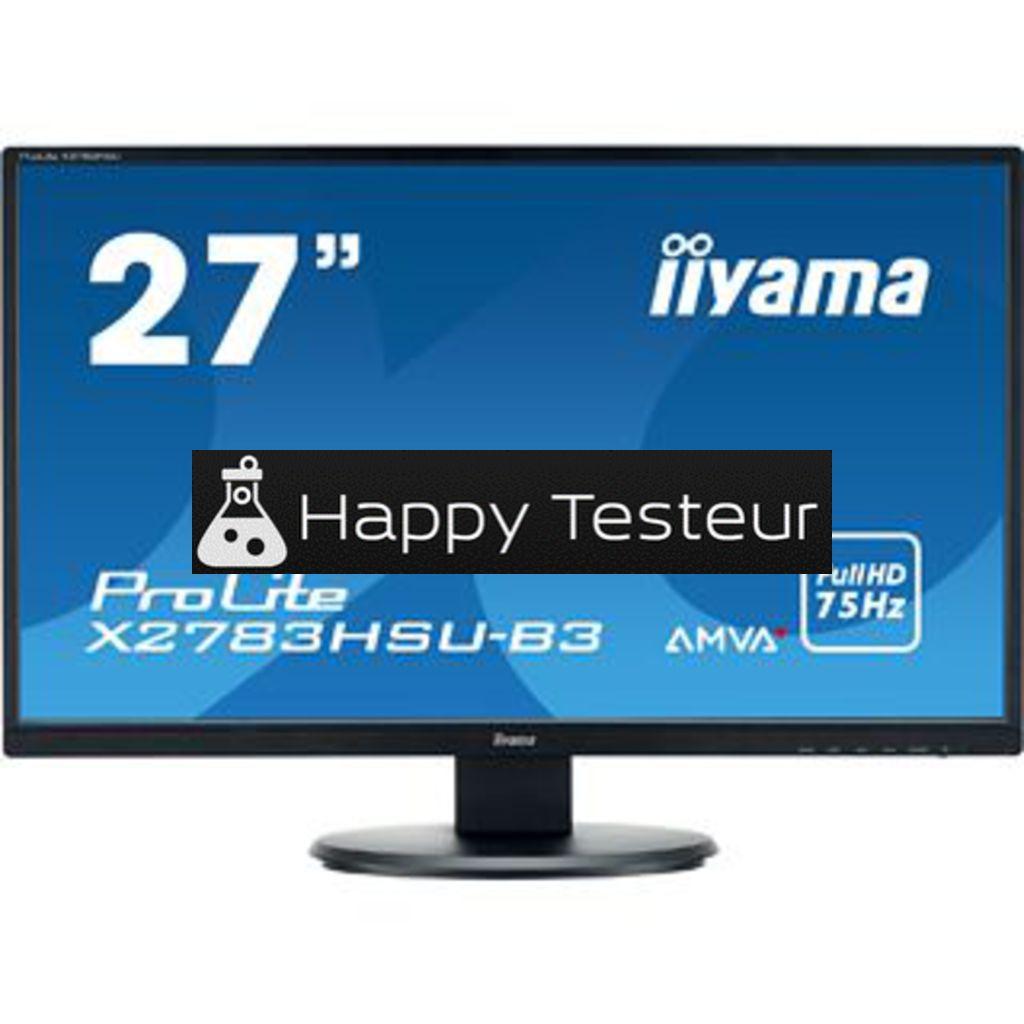 test Iiyama ProLite X2783HSU-B3