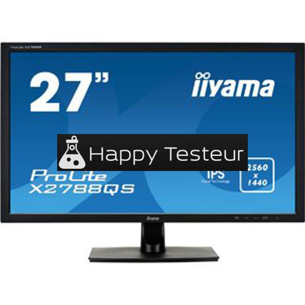 test Iiyama ProLite X2788QS-B1