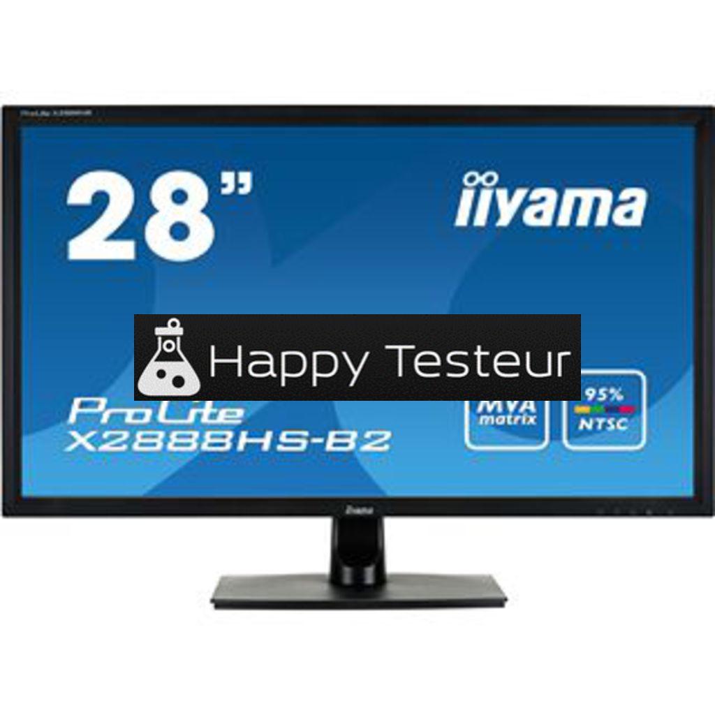 test Iiyama ProLite X2888HS-B2