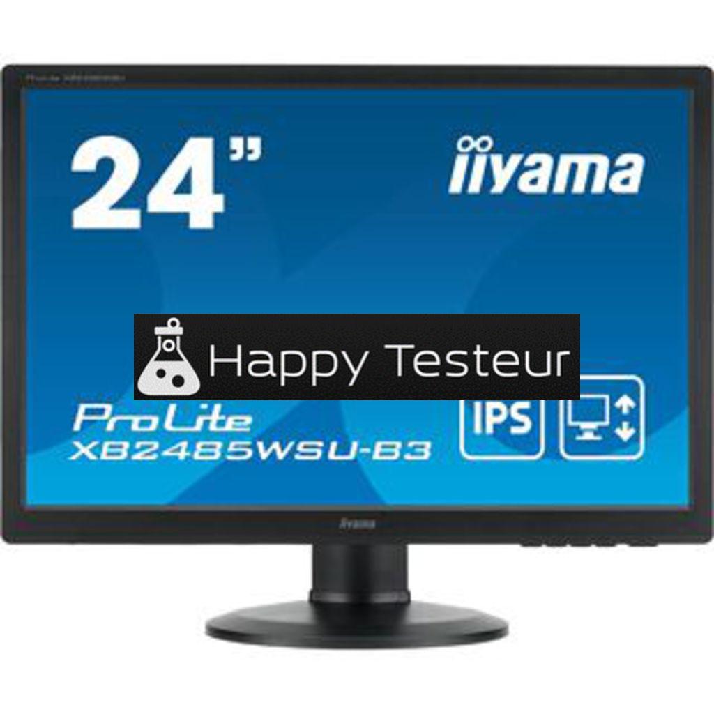test Iiyama ProLite XB2485WSU-B3