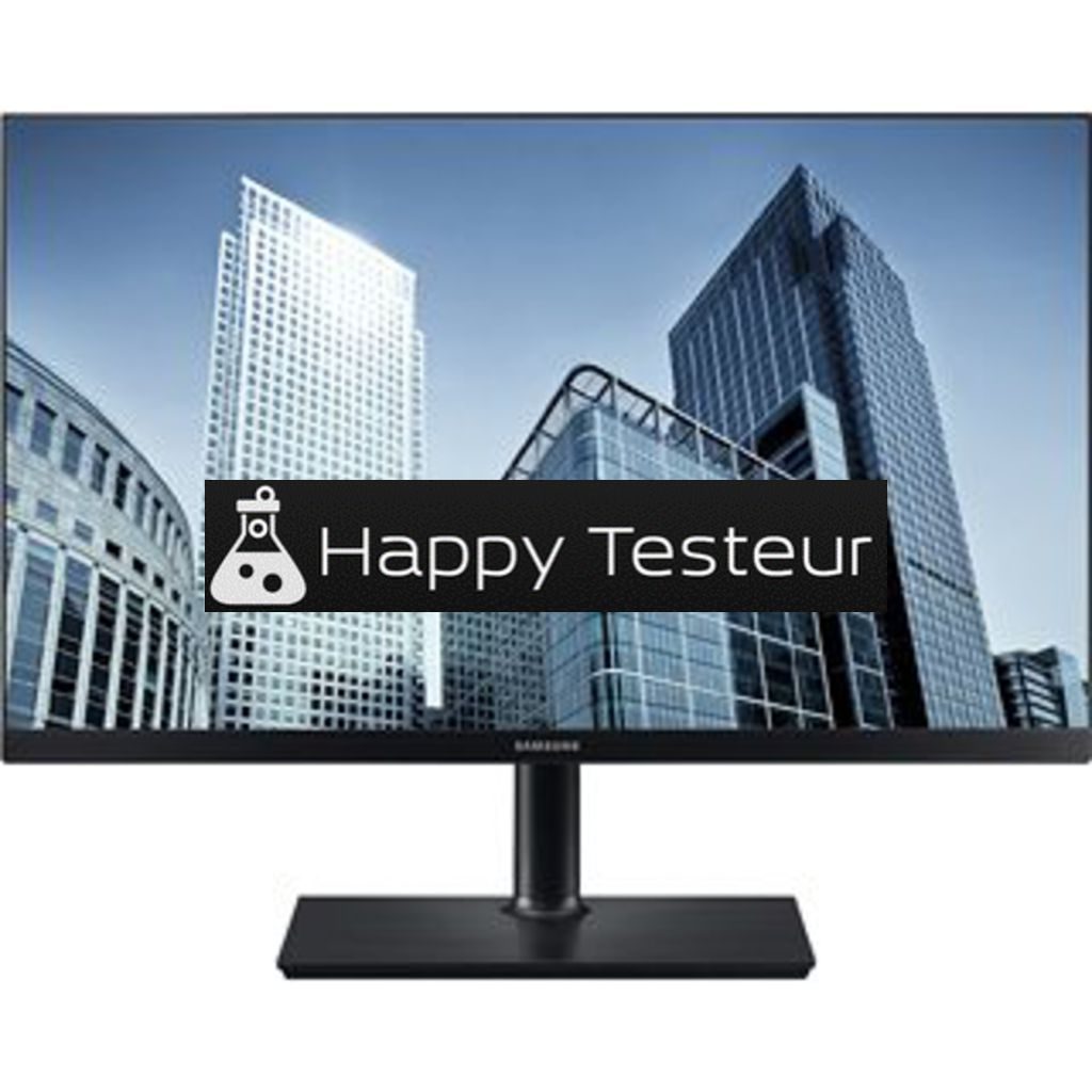 test Samsung S24H850QFI