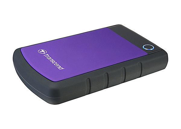 test Transcend StoreJet 25H3P - 2 TB - USB 3.0