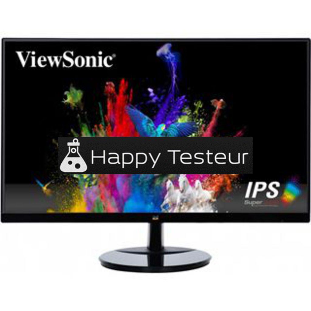 test ViewSonic VA2259-sh