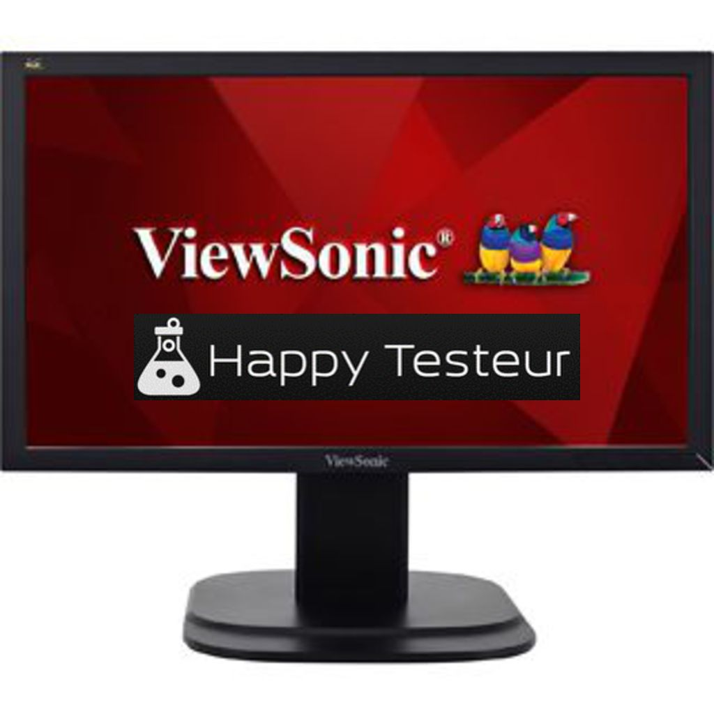 test ViewSonic VG2039m-LED