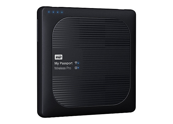 test WD My Passport Wireless Pro WDBVPL0010BBK - 1 TB