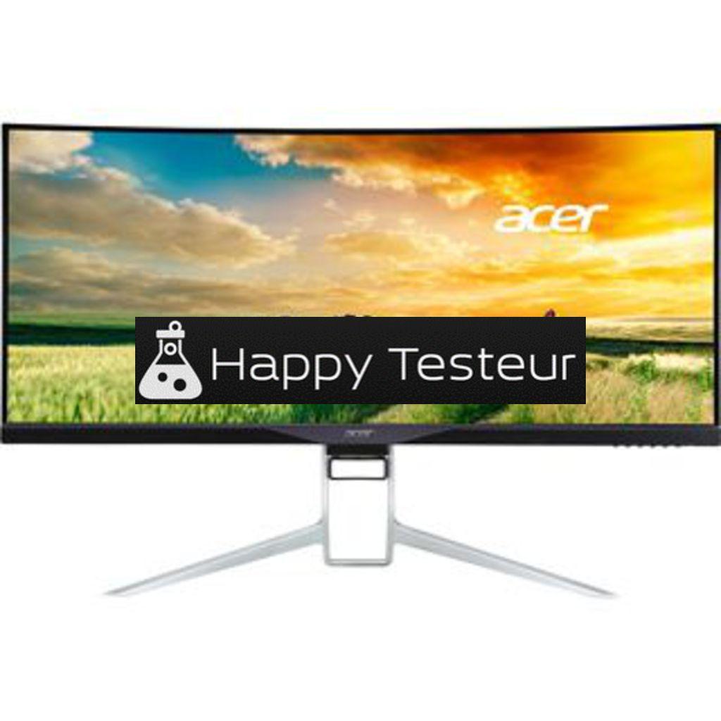 test Acer XR341CK