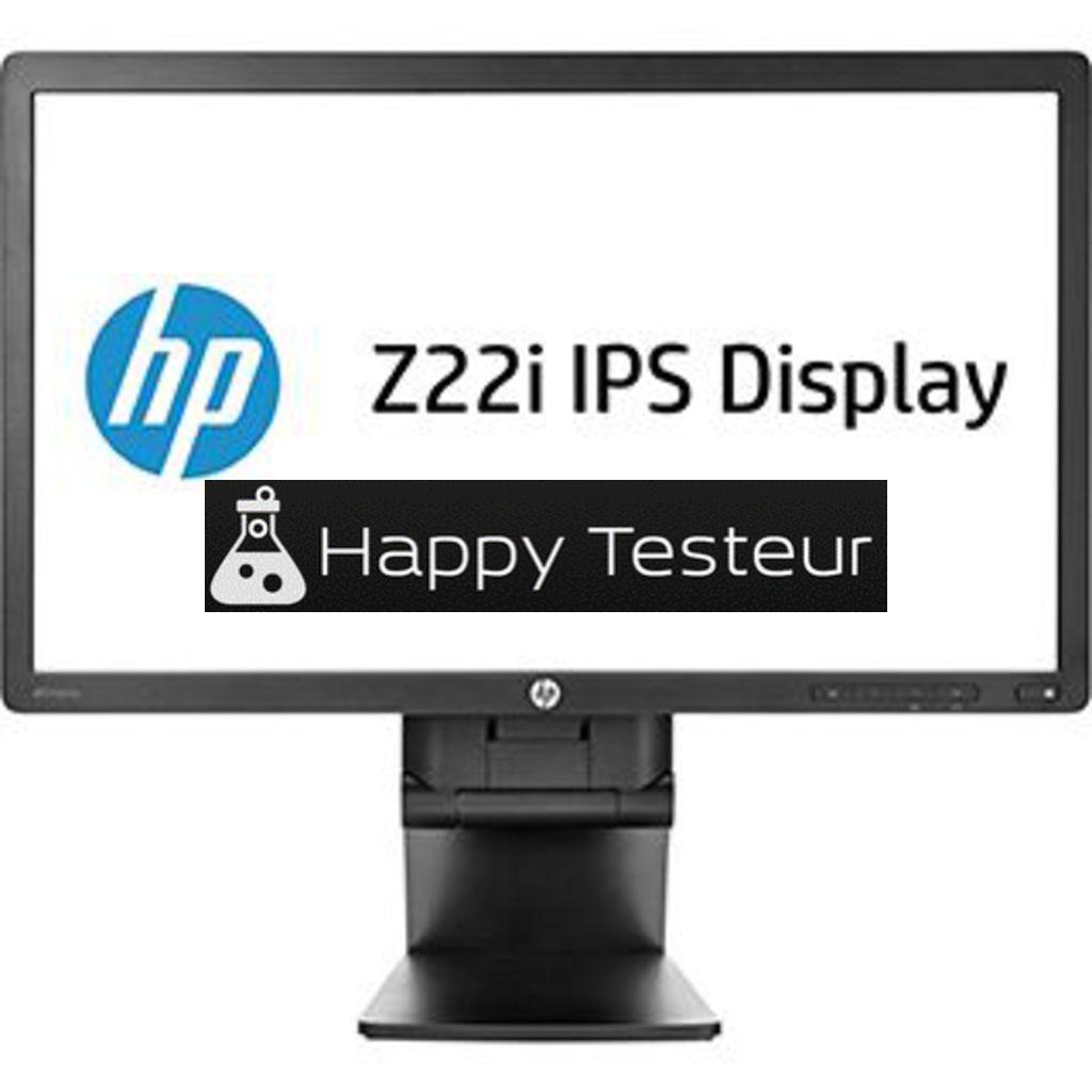 test HP Z22i