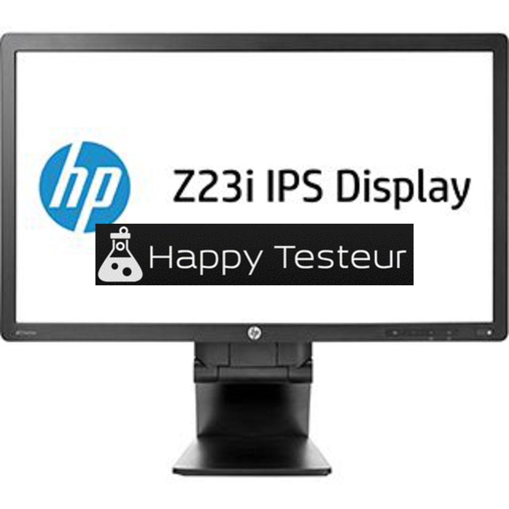 test HP Z23i