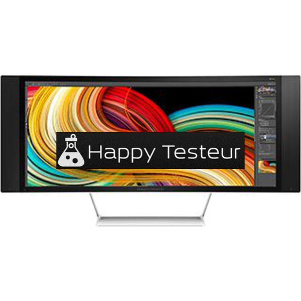 test HP Z34c